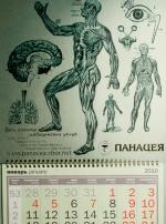 Разработали дизайн календаря