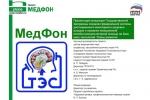 Презентация проекта Медфон