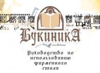 Фирменный стиль для Букиники