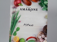 Новое меню для ресторана Амароне