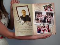 Выпускной фотоальбом в стиле глянцевого журнала!
